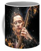 Jazz Bass Player Coffee Mug