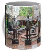 Jazz Greats Al Hirt Fats Domino Pete Fountain Stature New Orleans  Coffee Mug