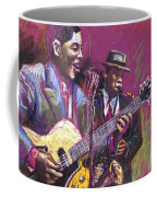 Jazz Guitarist Duet Coffee Mug
