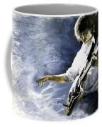 Jazz Guitarist Last Accord Coffee Mug