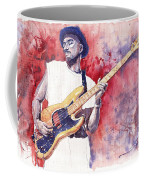 Jazz Guitarist Marcus Miller Red Coffee Mug