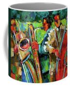 Jazz In The Garden Coffee Mug