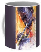 Jazz Miles Davis 9 Red Coffee Mug