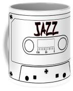 Jazz Music Tape Cassette Coffee Mug