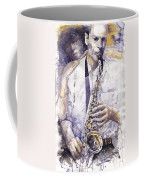 Jazz Muza Saxophon Coffee Mug