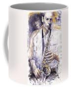 Jazz Muza Saxophon Coffee Mug