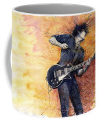 Jazz Rock Guitarist Stone Temple Pilots Coffee Mug