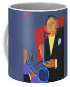 Jazz Sharp Coffee Mug by Kaaria Mucherera