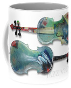 Jazz Violin - Poster Coffee Mug