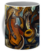 Black Cat Jazzz Coffee Mug
