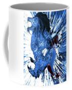 Jd And Leo- Inverted Ice Blue Coffee Mug