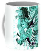 Jd And Leo- Inverted Lite Blue Coffee Mug