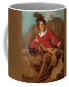 Jean-claude Richard Abbe Of Saint-non Coffee Mug