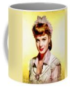 Jean Peters, Vintage Actress Coffee Mug