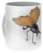 Jeanetic Violet-eyed Fly Coffee Mug by Michael Jude Russo