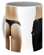 Jeans Style Coffee Mug