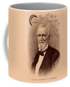 Jefferson Davis Vintage Advertisement Coffee Mug