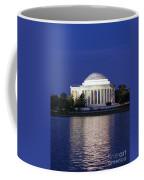 Jefferson Memorial Dusk Coffee Mug