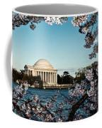 Jefferson Memorial In Spring Coffee Mug