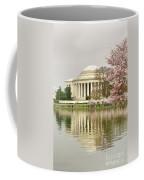 Jefferson Memorial Reflection I Coffee Mug