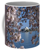 Jefferson Memorial On The Tidal Basin Ds051 Coffee Mug by Gerry Gantt