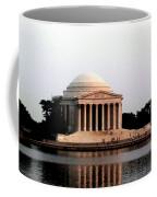 Jefferson Monument After Sunset Coffee Mug