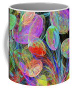 Jelly Beans And Balloons Abstract Coffee Mug