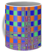 Jelly Fish On The Beach Abstract Coffee Mug