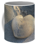 Jellyfish With A Big Heart Coffee Mug by Shane Bechler