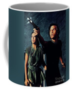 Jenny Agutter And Michael York, Logan's Run Coffee Mug