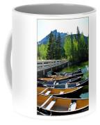 Jenny Lake Boats Coffee Mug