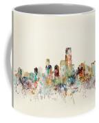 Jersey City New Jersey Skyline Coffee Mug