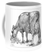 Jersey Milking Cow Coffee Mug