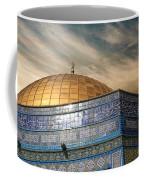 Jerusalem - Dome Of The Rock Sky Coffee Mug