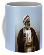 Jerusalem - Sheik Of Palestinian Village Coffee Mug