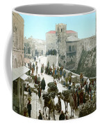 Jerusalem: Bazaar, C1900 Coffee Mug