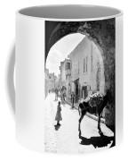 Jerusalem Street In 1914 Coffee Mug
