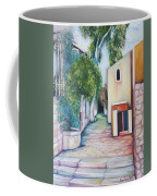 Jerusalem's Street Coffee Mug