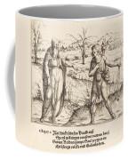 Jesse Sends David To His Brothers And Saul Coffee Mug