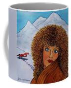 Jessyca And The Plane Coffee Mug
