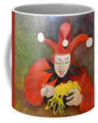Jester And Spaghetti Coffee Mug