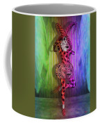 Jester Rainbow Girl  Coffee Mug