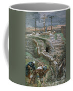 Jesus Alone On The Cross Coffee Mug by Tissot