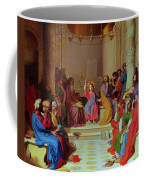 Jesus Among The Doctors Coffee Mug