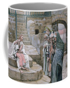 Jesus And The Little Child Coffee Mug by Tissot