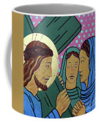 Jesus And The Women Of Jerusalem Coffee Mug
