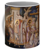 Jesus Arrest And Preparation For Crucifiction Coffee Mug