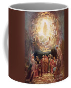 Jesus Ascending Into Heaven Coffee Mug by William Brassey Hole