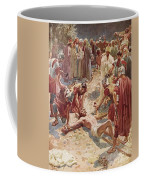 Jesus Being Crucified Coffee Mug