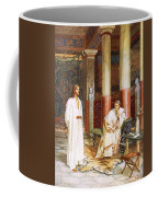 Jesus Being Interviewed Privately Coffee Mug by William Brassey Hole